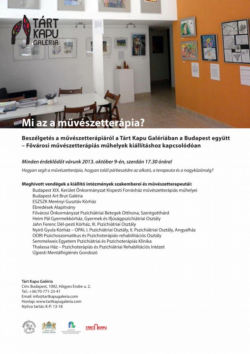 Kerekasztalbeszélgetés-Tárt Kapu Galéria(1)